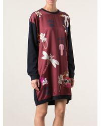 Mary Katrantzou Knipi Sweater Dress - Lyst