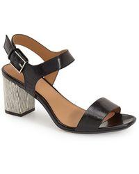 Calvin Klein - 'cimi' Block Heel Sandal - Lyst