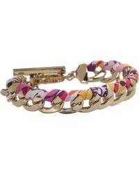 Vera Bradley Braided Chain Bracelet Lyst