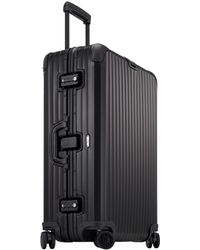 Rimowa Medium Black Topas Stealth Suitcase - Lyst