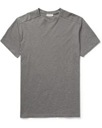 Balenciaga Stamped Cotton-Jersey T-Shirt - Lyst