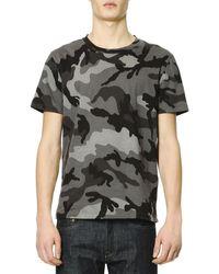 Valentino Short-sleeve Camo T-shirt - Lyst