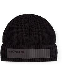 Moncler Printed Logo Hat - Lyst