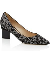 Nicholas Kirkwood Black and Silver Salsa Midheel Shoes - Lyst