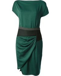 Vionnet Draped Dress - Lyst