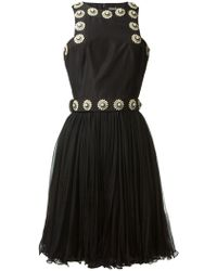 Alexander McQueen Embroidered Dress - Lyst