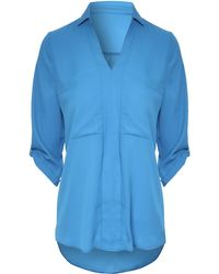 Jane Norman Oversized Pocket Blouse - Lyst