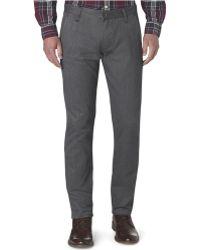 Dockers Slim Fit Alpha Khaki Flat Front Pants - Lyst