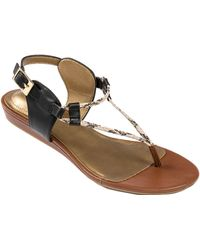 Me Too Melrose Leather Sandals - Lyst