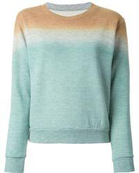 MM6 by Maison Martin Margiela Colour Block Sweatshirt - Lyst