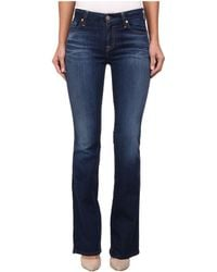 7 For All Mankind Kimmie Bootcut in Lovely Medium Blue - Lyst