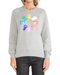Markus Lupfer Rainbow Gummy Bears Sweatshirt - Lyst