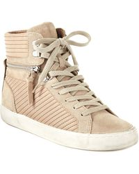 French Connection - Lodlow Hightop Trainers - Lyst