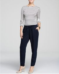 Moon & Meadow - Slouchy Drawstring Trousers - Lyst