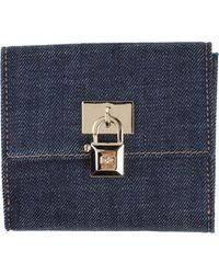 DSquared² Wallet blue - Lyst