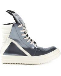 Rick Owens 'Geo Basket' Hi Top Sneakers - Lyst