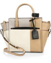 Reed Krakoff Mini Atlantique Colorblock Mondrian Shoulder Bag - Lyst