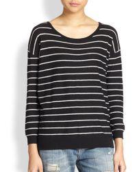 Joie Striped Boatneck Sweater - Lyst