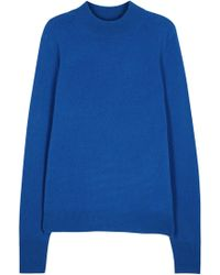 Equipment - Tayden Blue High-neck Cashmere Jumper - Lyst