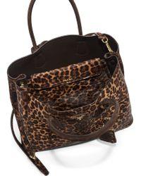 Prada Cavallino Calf Hair Double Bag - Lyst