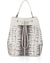 BCBGMAXAZRIA Printblocked Backpack - Lyst
