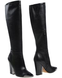 Sam Edelman Black Boots - Lyst