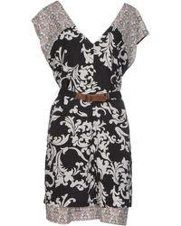 Alysi Short Dress - Lyst