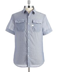 G-star Raw Short Sleeved Sport Shirt - Lyst