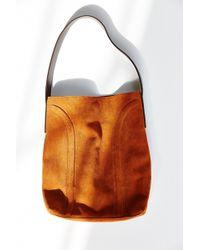 Kimchi Blue - Soft Lines Suede Shoulder Bag - Lyst