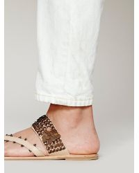 Free People Slip On Charmer Sandal - Lyst