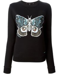Gucci Butterfly Print Sweater - Lyst