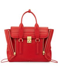 3.1 Phillip Lim Pashli Medium Zip Satchel Bag - Lyst