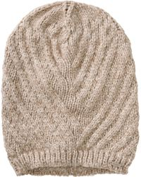 HUGO - Knit Cap 'Women-X 456' In A Fabric Blend - Lyst