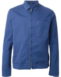 Paul Smith Zipped Jacket - Lyst