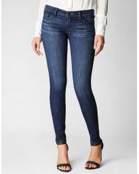 "True Religion Casey Low Rise Super Skinny 30"" Womens Jean - Lyst"