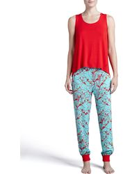 Josie Chinwallserie Dorm Pants Pool - Lyst