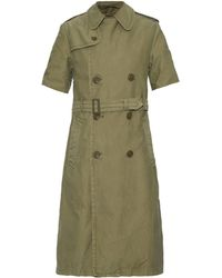 NLST - Detachable Wool-blend Lining Trench Coat - Lyst