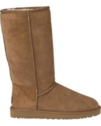 Ugg | Classic Tall Suede Boots | Lyst