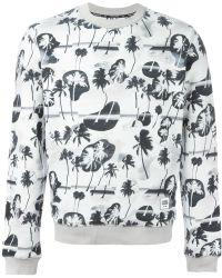 Opening Ceremony Palm Print Sweatshirt - Lyst