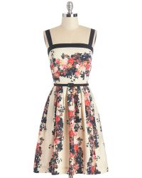 ModCloth Roof Garden Guru Dress - Lyst