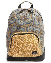Volcom - 'schoolyard' Canvas Backpack - Metallic - Lyst