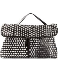 Marsell Laser Cut Dotted Shoulder Bag - Lyst