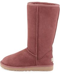 Ugg Ugg Classic Tall Boot purple - Lyst