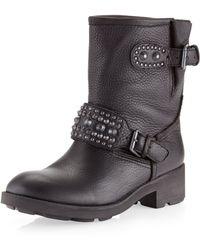 Ash Rebel Motorcycle Boot - Lyst