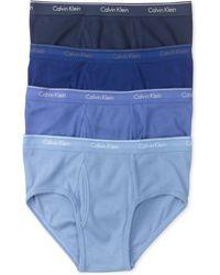 Calvin Klein Mens Classic Briefs 4-pack - Lyst