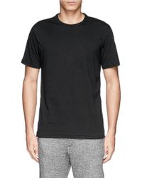 Rag & Bone 'Perfect Jersey' Pima Cotton T-Shirt - Lyst