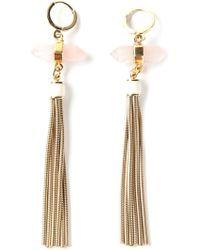 Isabel Marant Fringed Earrings - Lyst