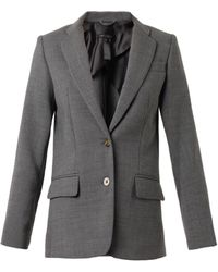 Marc By Marc Jacobs Singlebreasted Cady Blazer - Lyst