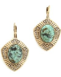 Samantha Wills - Dream with Me Drop Earrings Moss Green - Lyst