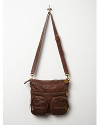 Free People Anny Leather Bag - Lyst